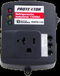 Protector Refrigeración Industrial Toma y Regleta 110v PARTE-110