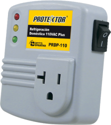 Protector equipos Digitales con supresor de picos diagonal