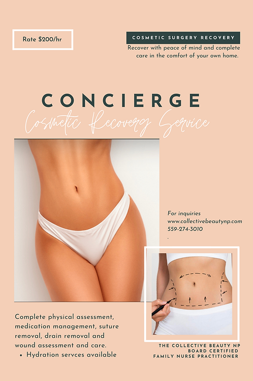 Concierge Cosmetic Recovery