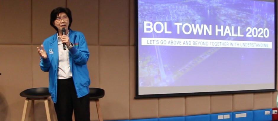 BOL TOWN HALL 2020 การประชุมเพื่อสร้างความเข้าใจร่วมกัน