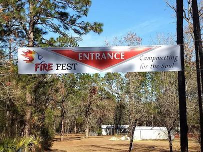 Fire Fest Entrance