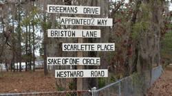 Artist Road Signs