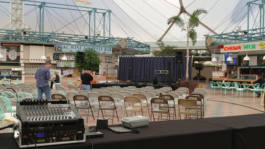 Crystal River Mall Stage