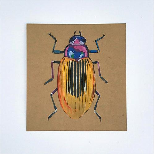 Beetle Painting