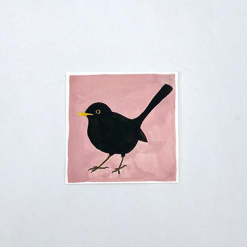 Little Blackbird Painting