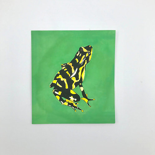 Harlequin Toad Painting