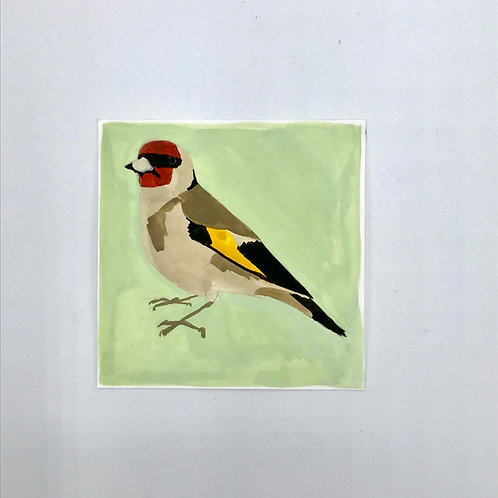 Little Goldfinch Painting