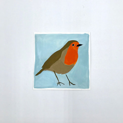 Little Robin Painting