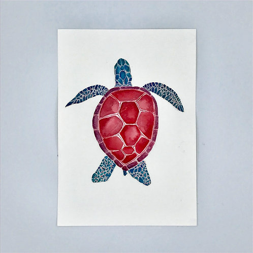 Turtle Watercolour