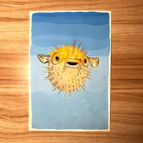Peter the Pufferfish