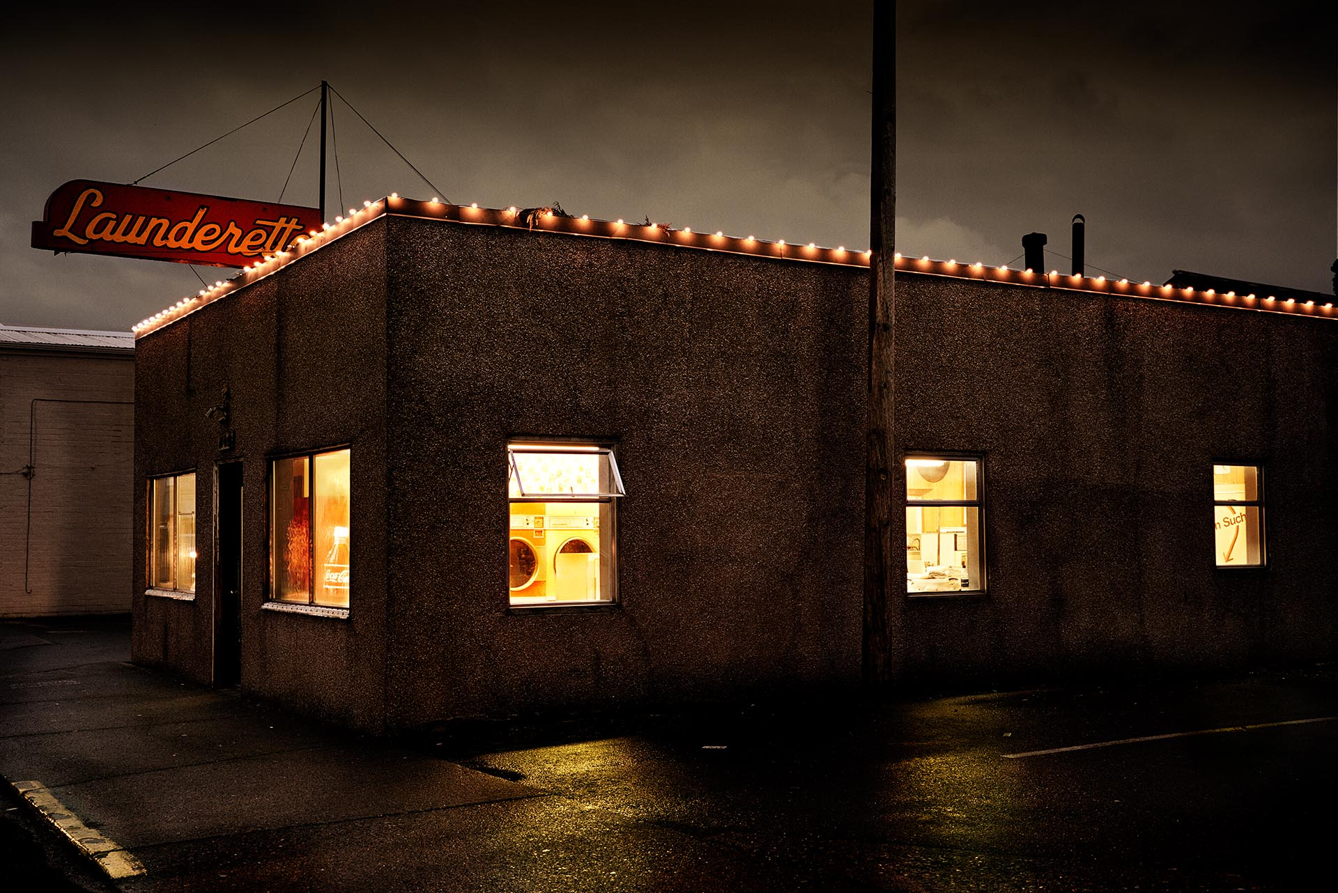 Launderette - Tacoma, Washington
