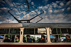 Tram, Kiev, Ukraine