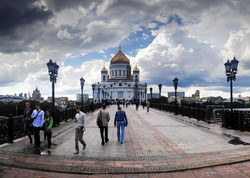 Christ the Savior church - Moscow
