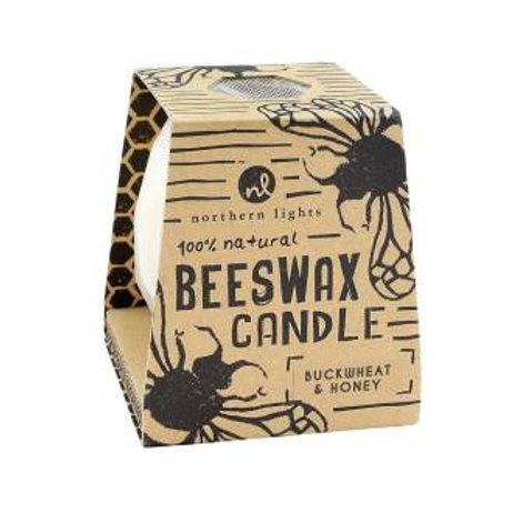 Buckwheat & Honey Beeswax Candle