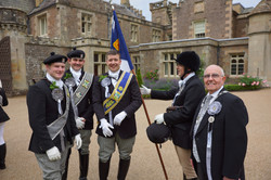Rotarians at Braw Lads Day