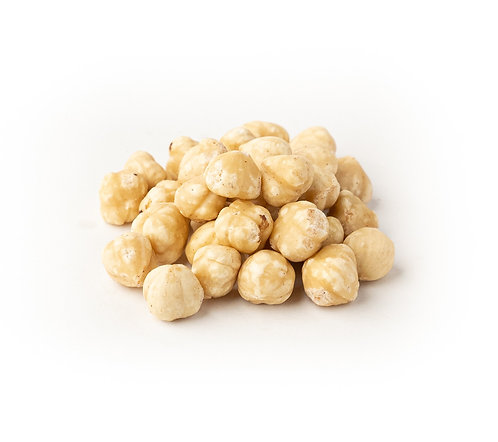 Hazelnuts, Blanched, Unsalted (100g)