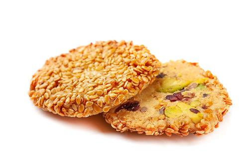 Barazek, Sesame Cookies with Pistacio (100g)