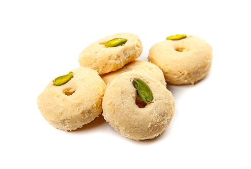 Ghraybeh, Butter cookies with pistachio (100g)