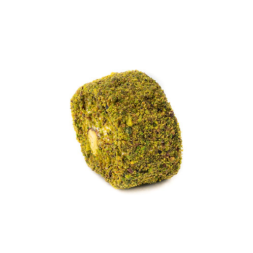 Sultan Lokum, stuffed with pistachio and covered with pistachio powder (1pc)