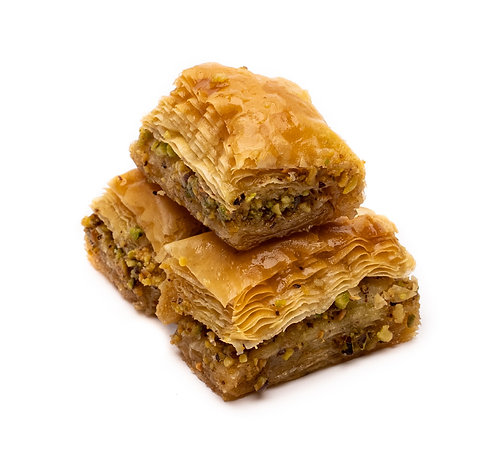 Pistachio Baklava, 3 slices (120 g)