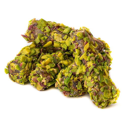 Fitil Lokum with pistachio & covered with sliced pistachio (5pcs)