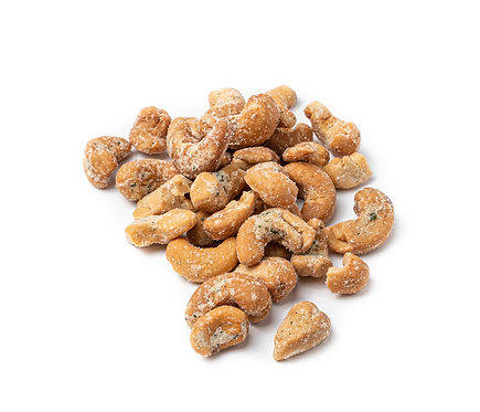 Cashew nuts, roasted with wasabi seasoning (100 g)