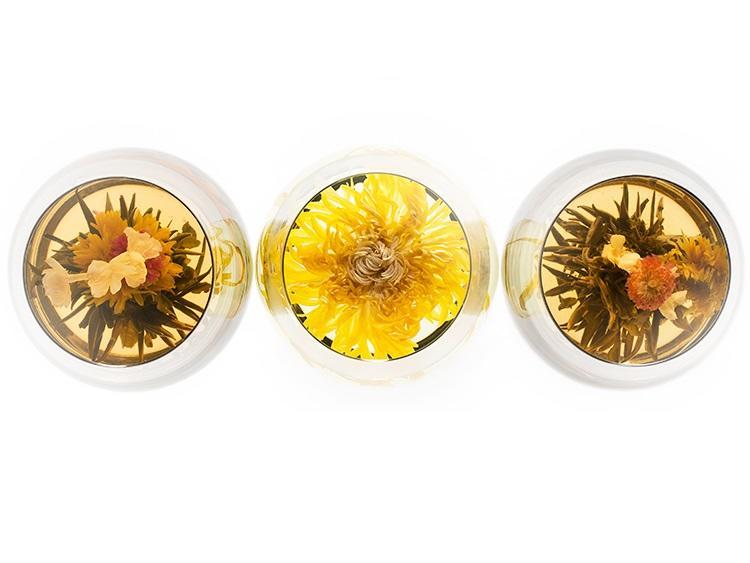 姿を愛で、香りを味わう中国の花茶(7,440円)