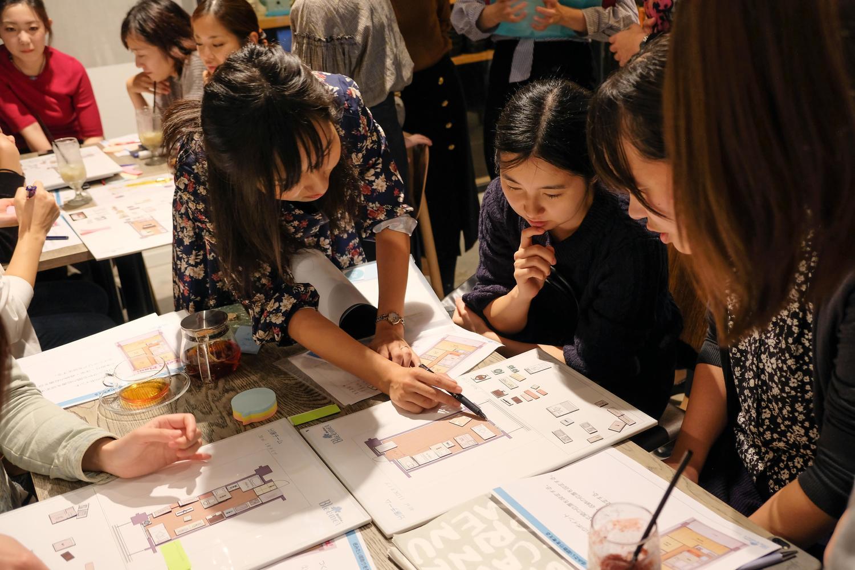 ②間取りイメージから構想!ひみつの企画会議 with 東京建物 -Brillia Bloomoi-
