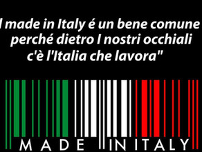 La scelta di un occhiale italiano
