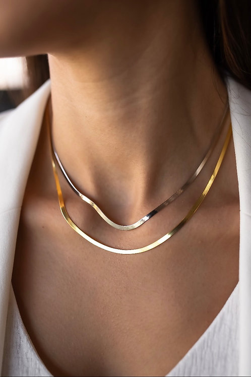Necklace - Herringbone Chain