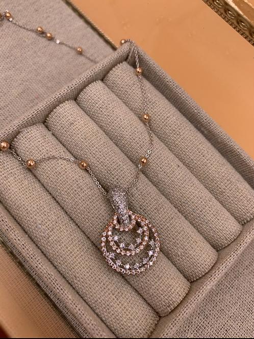 Silver Necklace - Milkyway