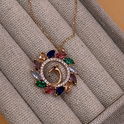 Necklace - Peacock