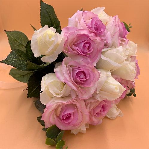 Bridal Bouquet - Pink & White