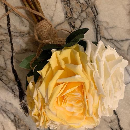 Bridal Bouquet - Yellow & White