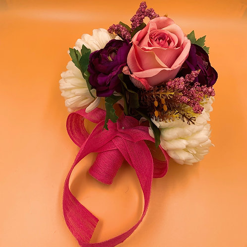 Bridal Bouquet - Ivory & Pink