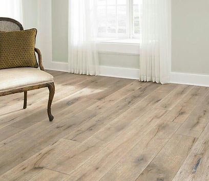 Wide selection of quality hardwood flooring with various species and colors