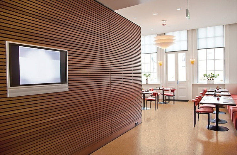 Architectural projects with cork flooring solutions UK