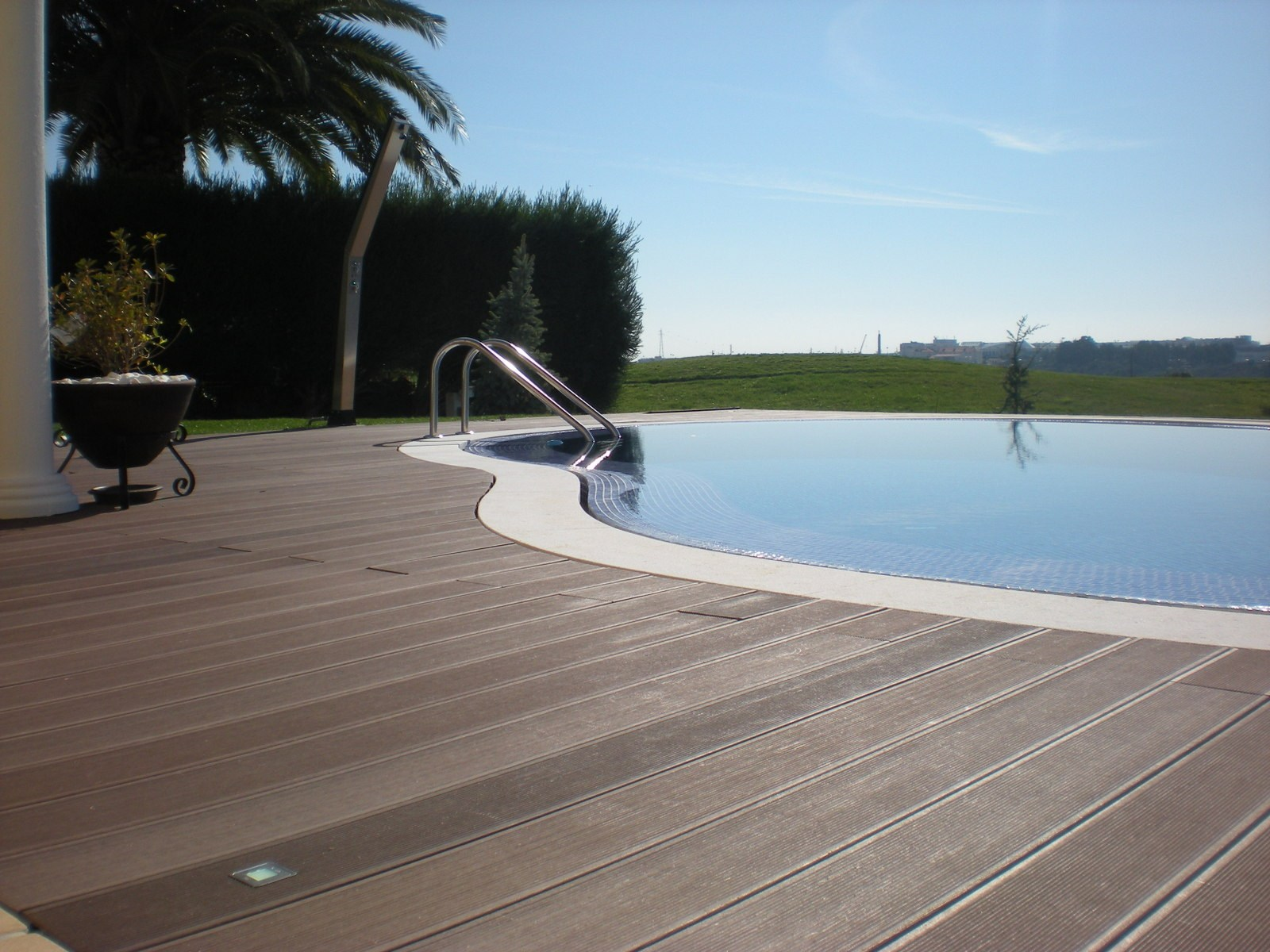 Swiming-pool project in WPC