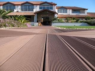 Alternative to timber decking with no maintenance