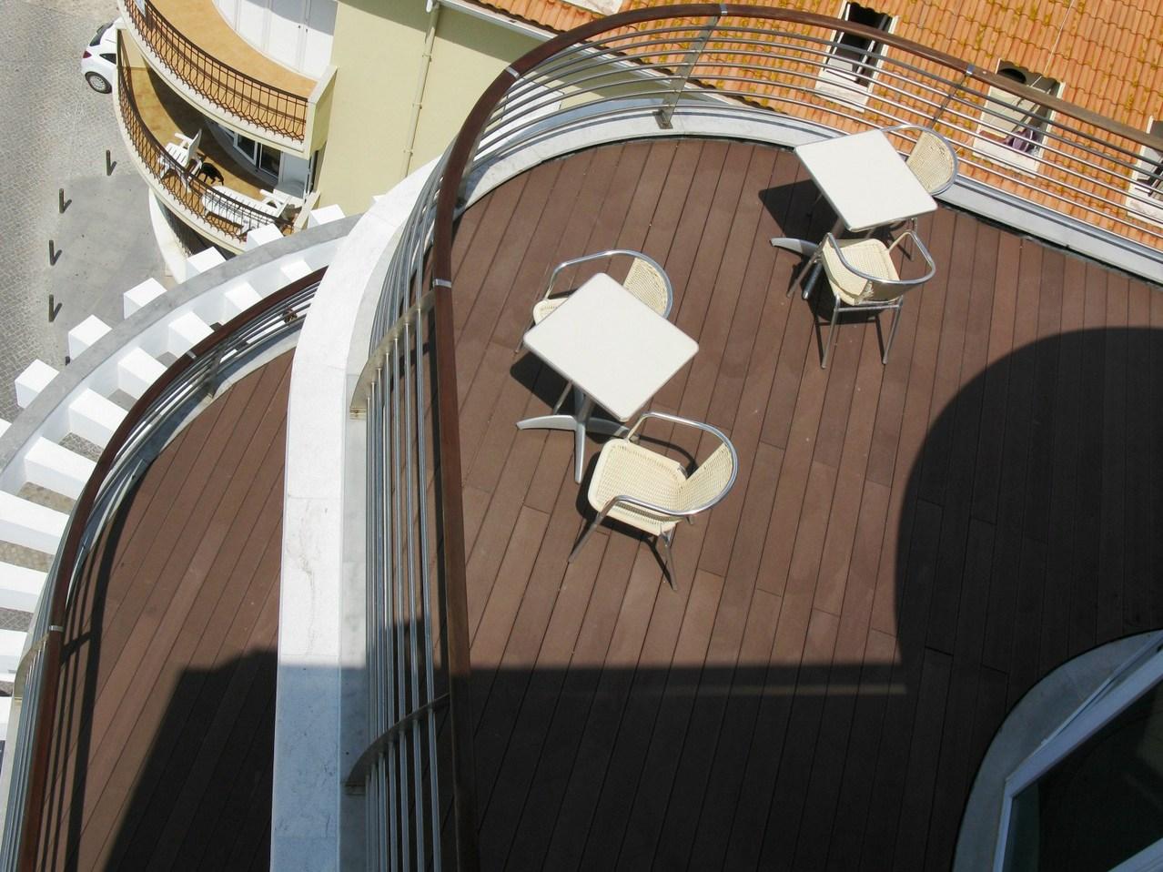 Tecnodeck hotel balconies