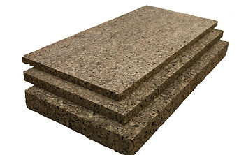 Cork Expanded boards for insulation