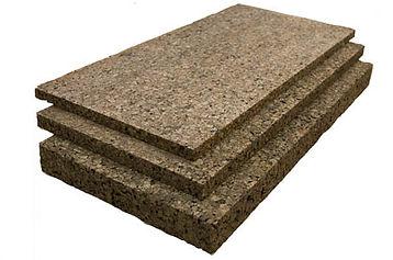 Insulation agglomerate cork boards