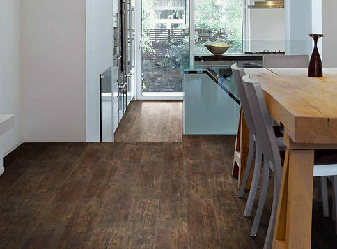 Morocco Pine vinyl flooring with cork
