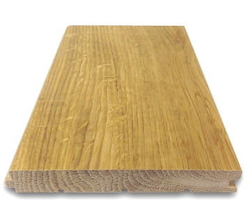 Surface and length hardwood plank