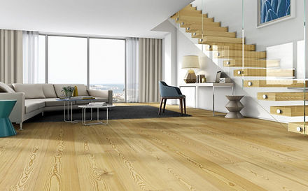 Light wood Riga flooring