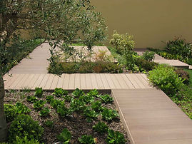 WPC decking solution with anti-bacterial and anti-sliding