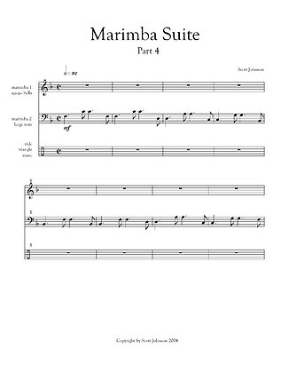 Marimba Suite - Part IV