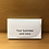 """Thumbnail: """"Thank You"""" Business Card Holder"""