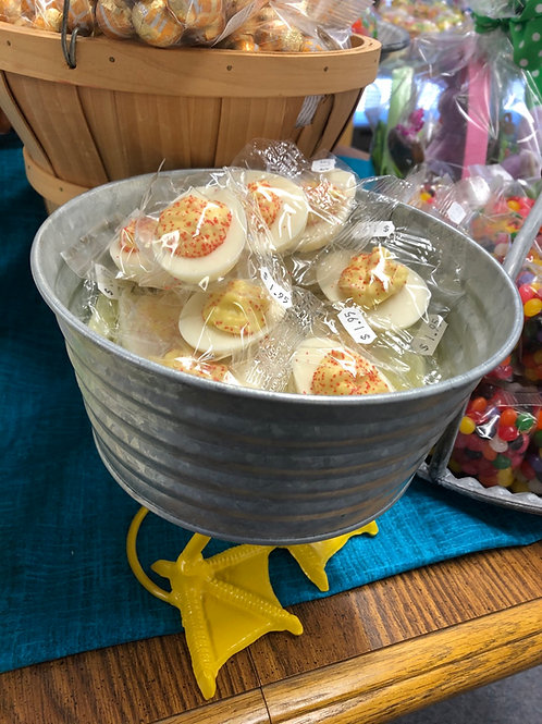 Deviled egg candy