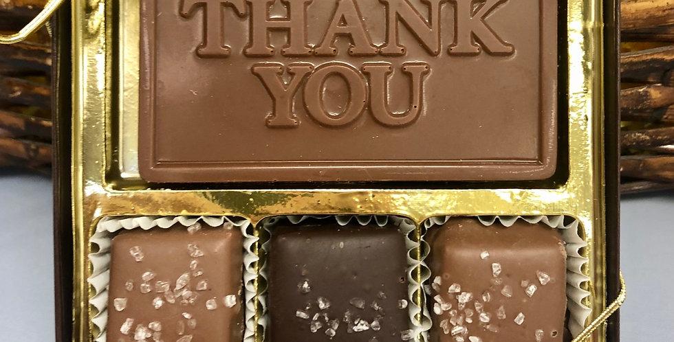 """""""Thank You"""" Caramel Sampler"""